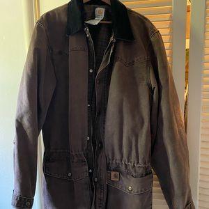 Men's XLarge Carhartt Field Jacket in Brown